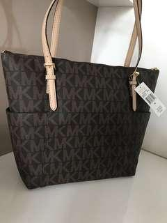 Michael Kors 100% authentic brown tote handbag Bnib ( Micheal Kors )