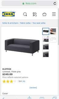 DIJUAL SOFA KLIPPAN IKEA