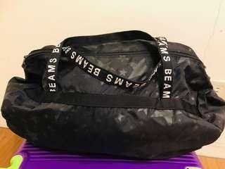 🚚 BEAMS 日本 旅行包 可以折疊方便
