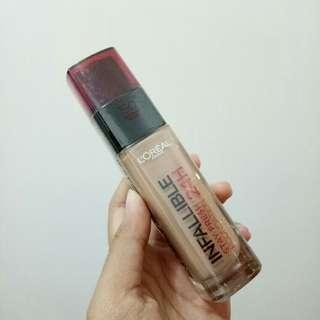 Loreal Infallible 24H Stay Fresh Foundation