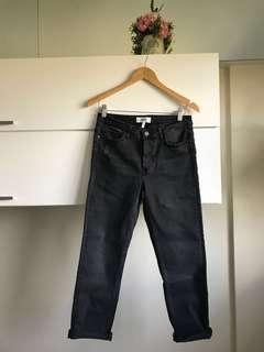 Authentic Mango Black Denim Jeans