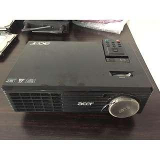 Acer X1261P XGA 1024x768 2700 Lumens 3D Ready DLP Projector