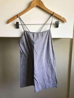 Plains and Prints Grey Camisole