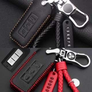 BN Car key leather case for Mitsubishi FOB
