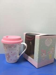 My Melody瓷杯連膠蓋 Cup with cover