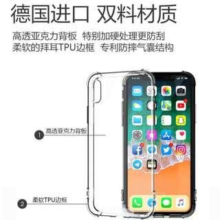 Iphone, Huawei, Samsung Transparent casing