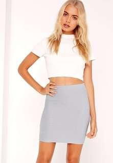 Kookai Bandage Mini Skirt