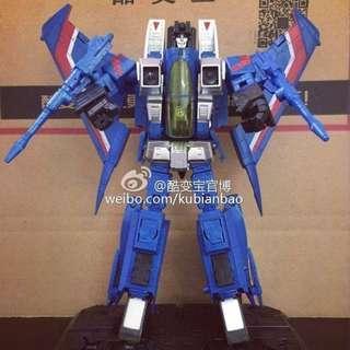 Thundercracker Starscream KBB KuBianBao Thunder Wrath KO MP11T 🆓 post to WM