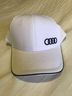 Authentic Audi White Cap