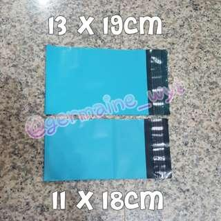 🚚 XS Teal Blue Polymailers