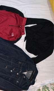North face shirt and others