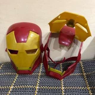 🚚 鋼鐵人造型面具/個