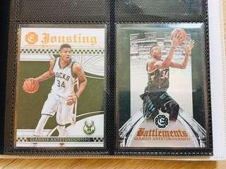 Giannis Antetokounmpo NBA cards