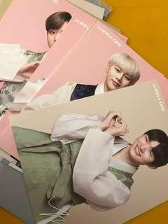 wanna one season greeting photocards