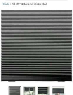 SCHOTTIS black out blind, ikea