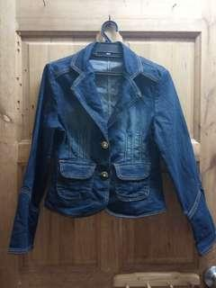 Preloved Denim Jeans Jacket