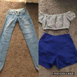 All for 90k ! Forever21 , hw short pants