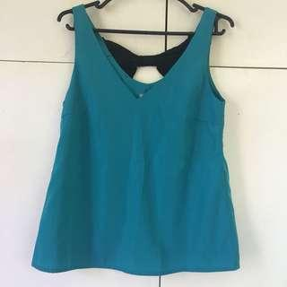 Charlotte Russe Torquise Top