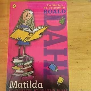 Brand New Roald Dahl Matilda Wrapped In Plastic