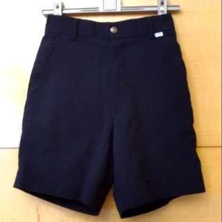 🚚 兒童深藍色西裝短褲(14號/臺灣製/鬆緊帶)