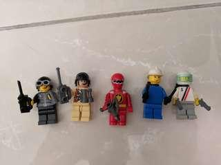 Lego Minifigures mix and match