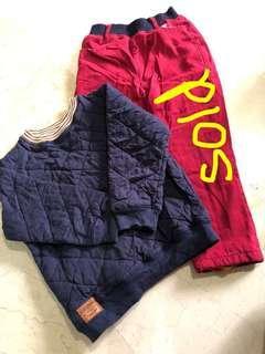 5-7 yo Winter top and pants