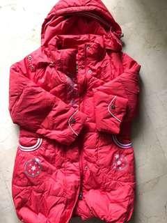 8-10 yo girl's Winter Down Jacket