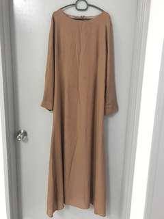 Nude jubah or long dress [REDUCED]