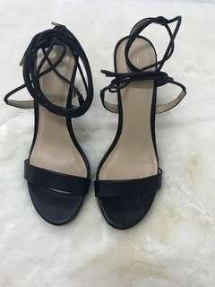 Black straps Heels [REDUCED]