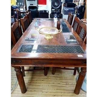 Solid Wood Dinning Set
