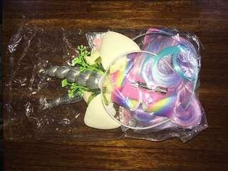 Thanks Sis Lara!!  Unicorn wig and Headband Sold!