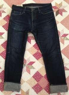 Hollister Indigo Skinny Jeans 32x30 Made in Mexico