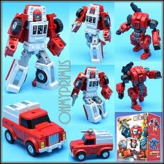 [Pre-order] MechFansToys Mech Fans Toys MFT Mechanic Studio MS-17 MS17 Spiale - Transformers Legends Scale Swerve