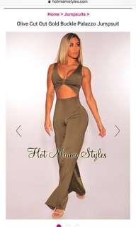 Hot Miami Styles Jumpsuit