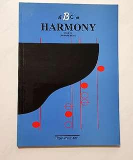 🚚 Roy Wilkinson ABC of Harmony Book B  Music Theory