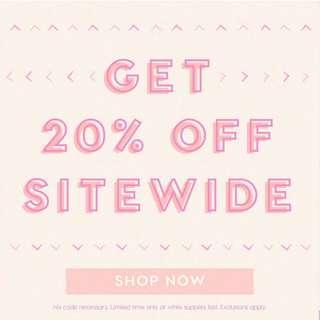 🚚 [CLOSED 50/50usd] Colourpop Spree - 20% off site wide!