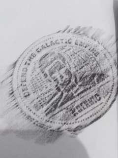 Starwars Coin - New - Sealed - Krexxic
