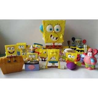 Spongebob Collectibles Toy Figures Set