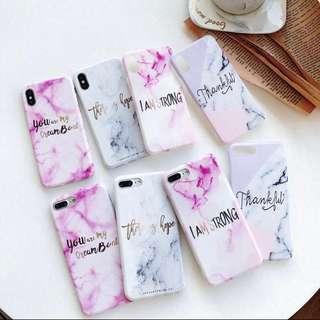 🚚 iphone tumblr marble quotes phonecase