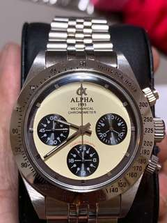 d65d43aeba vintage chronograph watch | Tyres & Rims | Carousell Singapore