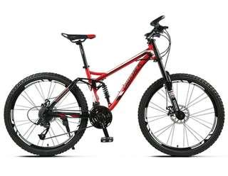 Super offer !!! Full suspension downhill bike trail bike mtb bicycle