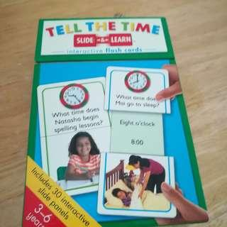 Tell The Time Slide & Learn