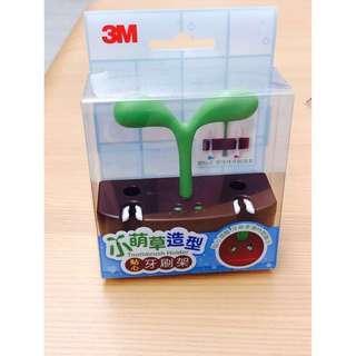 🚚 3M 小萌草造型🌱貼心牙刷架#半價良品市集