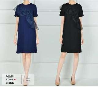 Black dress maje