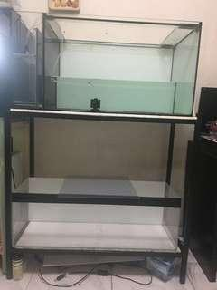 🚚 Fish tanks and stand
