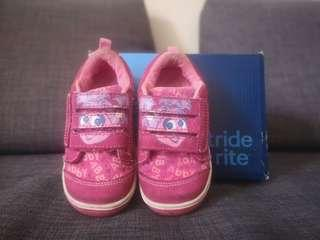 StrideRite sesame street pink shoe