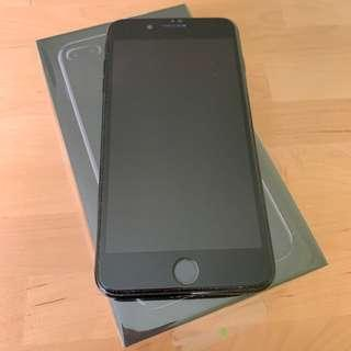 🚚 iPhone 7 Plus 128gb Jet Black iOS 10.3.3 with free case