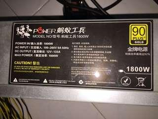 Power PSU 1800w