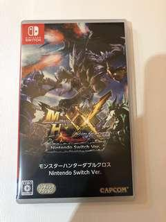Monster Hunter XX 99% new Switch game