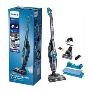 🚚 PHILIPS FC6409 /61 6409 POWERPRO AQUA CORDLESS RE CHARGEABLE VACUUM CLEANER like new !